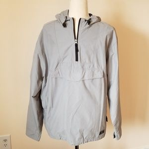 Old Navy gray anorak coat.